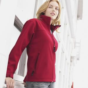 Basin softshell jacket (women, blank)